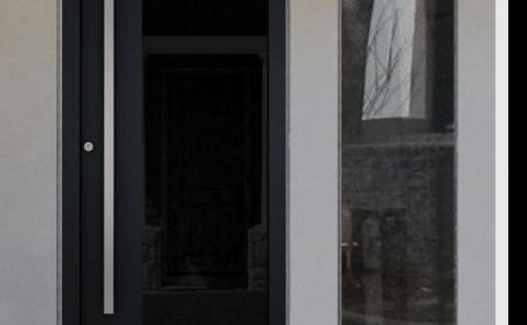 Drzwi zewnetrzne antracyt 1