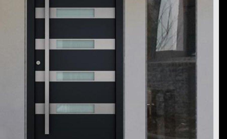 Drzwi zewnetrzne antracyt 10