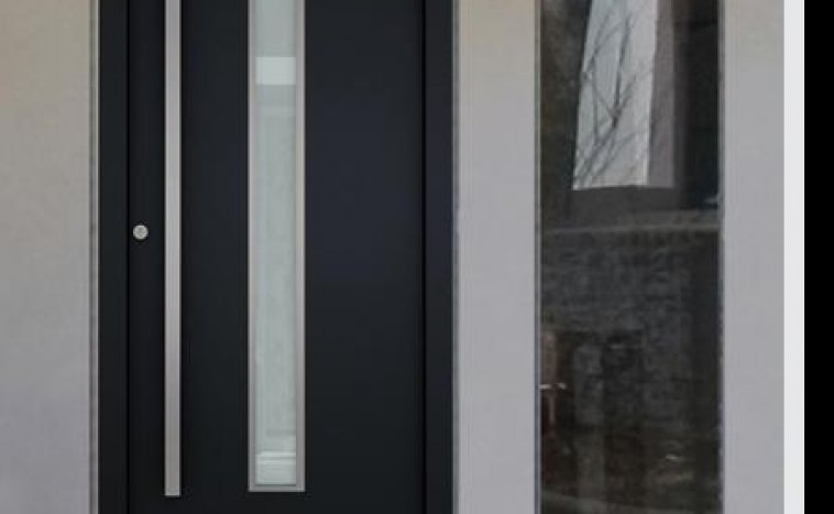 Drzwi zewnetrzne antracyt 2