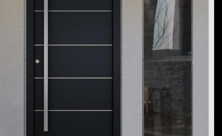 Drzwi zewnetrzne antracyt 3