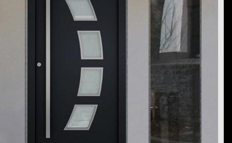 Drzwi zewnetrzne antracyt 5