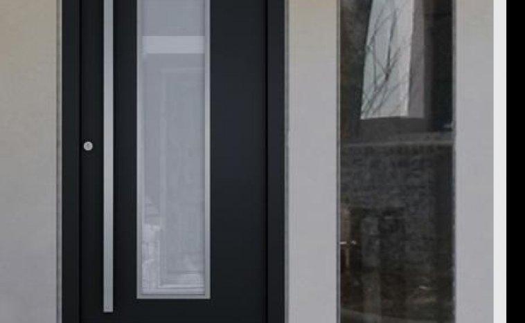 Drzwi zewnetrzne antracyt 8