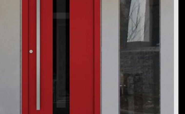 Drzwi zewnetrzne czerwien 5